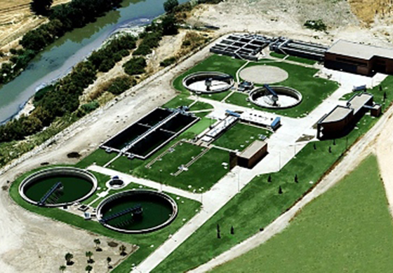 The Velilla de San Antonio WWTP