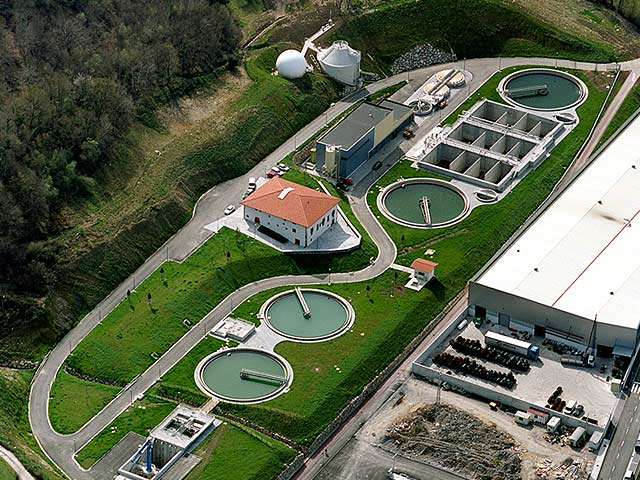 The Mekolalde WWTP