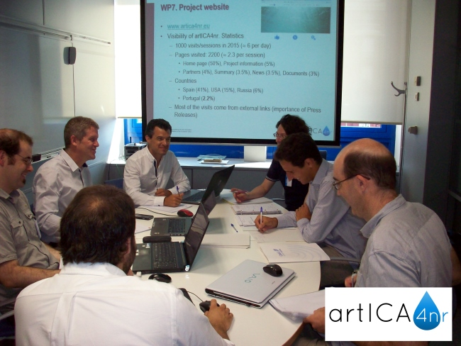 3rd face-to-face meeting artICA4nr project
